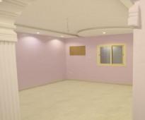 شقه عوائل بالكندرة للإيجار غرفتين صغيرة وحمام ومطبخ وصاله صغيرة