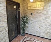 شقة VIP شبه مؤثثة ومكيفة للايجار اسكان الدمام