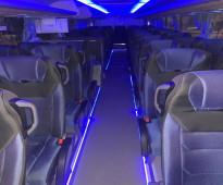 للإيجار اتوبيسات مرسيدس50راكب شامل البنزين والسائق والكارته