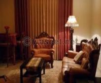 شقة مفروشة للايجار تطل على شارع البطل بالمهندسين القاهرة