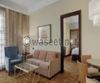 شقة مفروشة للايجار تطل على شارع شهاب المهندسين القاهره