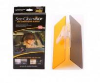 شماسة سيارة لمنع مرور أشعة الشمس داخل سيارتك see-clear visor للتواصل من السعوديه 0565264138