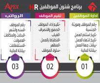 برنامج ادارة شئون الموظفين والموارد البشرية HR