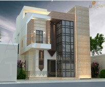 للبيع من المالك مباشرة 5 فلل للبيع بحي الرحمانية على شارع 15م جوال 0581002624