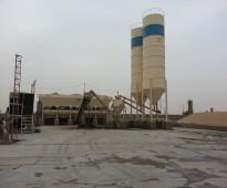 مصنع خرسانة ومنتجات اسمنتية  للبيع بجميع معداته وآلياته