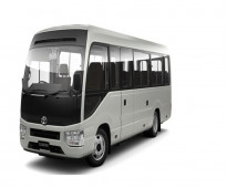 Toyota buses 30 seats coaster available for rent