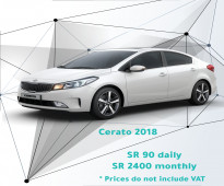 Kia Cerato 2018 for rent
