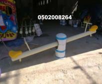 للبيع العاب خارجية من الهزازات و المراجيح الجدارية 0502008264