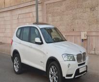 BMW جيب صغير X3 موديل 2012 ابيض