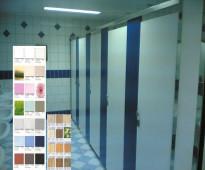 قواطع و ابواب دورات مياه فينوليك phenolic toilet partitionse