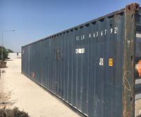هل تبحث عن حاويات حديدية بحالة جيدة جدا لأغراض التخزين؟