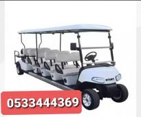 GOLF CARTS عربات جولف NEW TRACKS