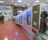 خط إنتاج الخبز العربي