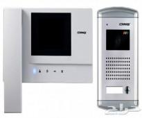 جهاز انتركم commax لجميع المنازل والشركات فقط 1200 ريال