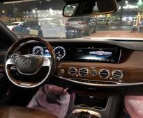 للبيع مرسيدس S400 - الموديل: 2015 - الوكيــل: سعودي