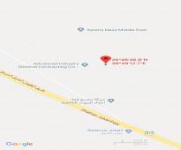 للبيع أرض بور على شرق طريق الجبيل الظهران