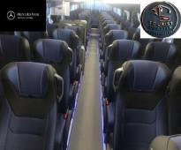 اتوبيس مرسيدس 50 راكب  لرحلات السياحية واليوميا
