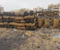 فحم أراجيل سوداني فاخر للبيع