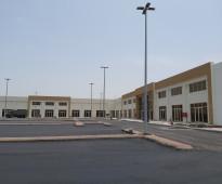 محلات تجارية بمشروع حديث بالصناعية