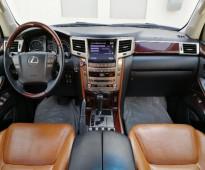 للبيع لكزس LX570 موديل 2012 - الــــوارد : ســعـــودي