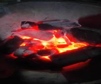 فحم الشعلة سريع الاشتعال