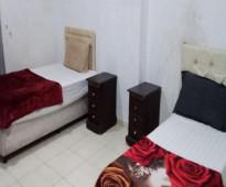 شقة مفروش للايجار تتكون من غرفتين