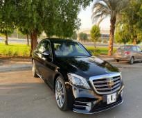 للبيع سيارة مرسيدس S450 * الموديل /2019