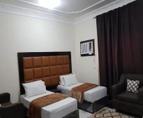 غرفه وحمام  مفروشة  حي الوزيريه