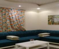شقة مفروشة بجدة حي الواحة للايجار الشهري للعوائل