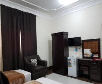 غرفه وحمام  للايجار  حي الوزيريه مقابل ابو زيد  و العفش جديد