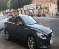 للبيع مازدا 6 موديل 2015 - فل كامل سعودي بحالة الوكالة وممشى قليل