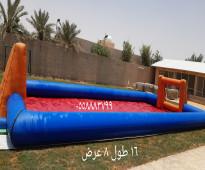 للتاجير نطيطات ملعب صابوني زحليقه مائيه الرياض