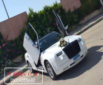 ايجار سيارات زفاف مزينة
