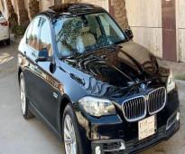 للبيع بي ام دبليو BMW 520i 2016 بطاقه جمركيه