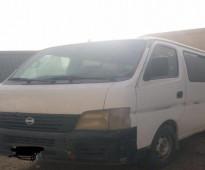 للبيع باص ركاب نيسان اورفان - الموديل: 2005