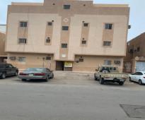 شقة للايجار  مدخلين مجلس رجال صالة مطبخ غرفتين نوم