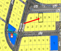 ارض سكنية رقم 30 للبيع في الظهران حي الدوحة الشمالية 