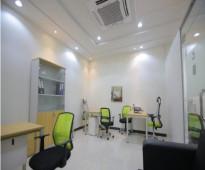 مكاتب مجهزة بالكامل للإيجار بمساحات وأسعار متنوعة