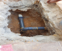 كشف تسربات المياه - فحص التسربات