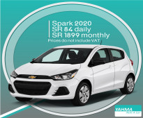 Chevrolet Spark 2020 for rent