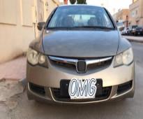السيارة: هوندا - سيفيك الموديل: 2006 - للبيع