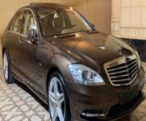للبيع مرسيدس S500 موديل 2012