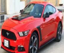 موستنج 2015 خليجي ( قير عادي ) V6 نظيف جدآ - للبيع