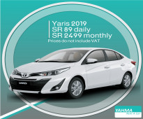 Toyota Yaris 2019 for rent