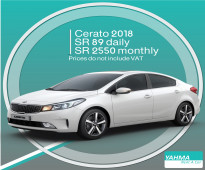 Toyota Cerato 2018 for rent