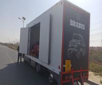 شركة شحن سيارات من الرياض الي  دبي وعمان والكويت وجميع دول الخليج  00971588568888