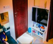 شقة مفروشه موثثه جديده للايجار