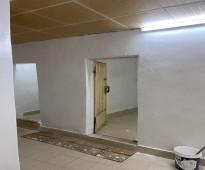 شقة للايجار غرفه +صاله +حمام +مطبخ