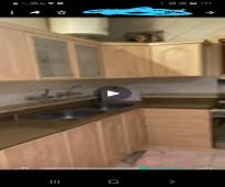 مطبخ مستعمل 15 متر  نظيف وللبيع بشكل عاجل