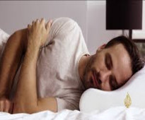 وسادة النوم لراحة الرقبة والحد من الشخير